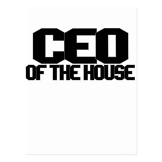 CEO OF THE HOUSE png Postcards