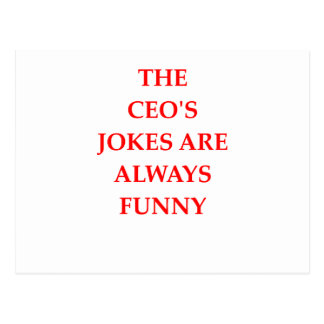 CEO POSTCARD