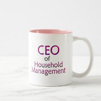 CEO Two-Tone COFFEE MUG