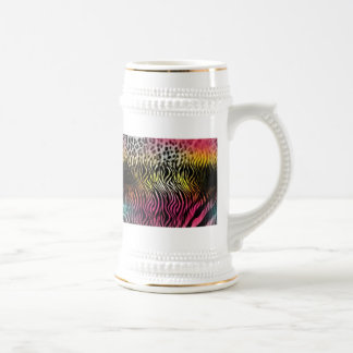 Ceramic Abstract Beer Steins