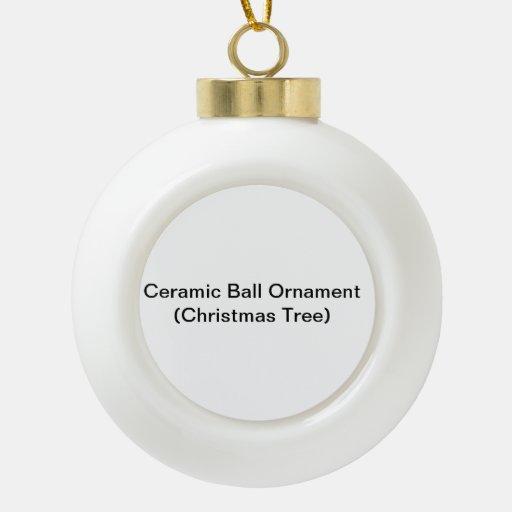 Ceramic Ball Ornament (Christmas Tree)