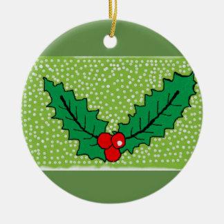 Ceramic christmas tree decoration