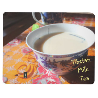 Ceramic cup of Amdo Tibetan Milk Tea Journal