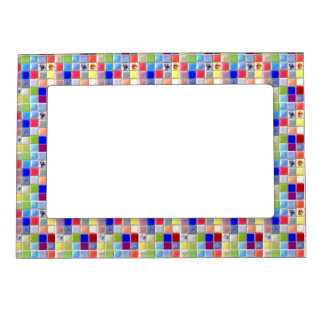 Ceramic Mosaic Tile Magnetic Picture Frame