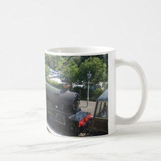 Ceramic Mug: Picture of Lydham Manor Steam Engine Coffee Mug
