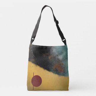 Ceramic Pixels Abstract Crossbody Bag