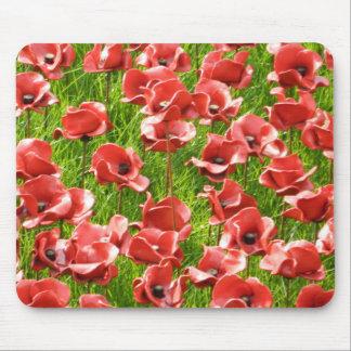 Ceramic Poppies Mousepad