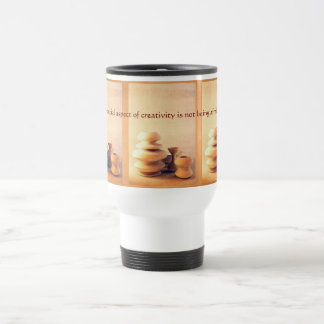 Ceramic Pottery Still Life I - Light and Shadow Travel Mug