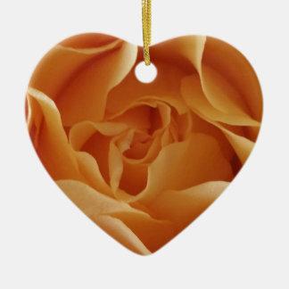 Ceramic Rose Ornament