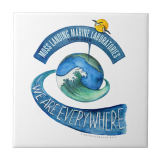 "Ceramic Tile (4.25"" x 4.25""): We Are Everywhere"