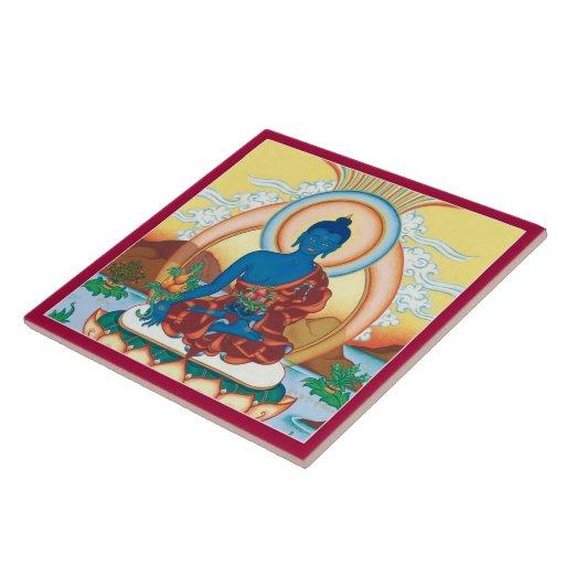 CERAMIC TILE- Medicine Buddha - The Healing Master
