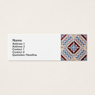 Ceramic tiles mini business card