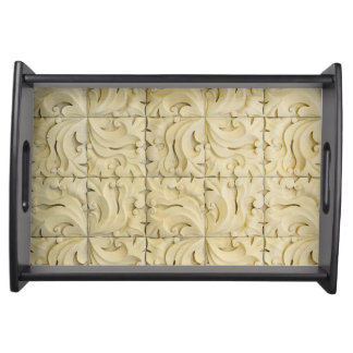 ceramic tiles pattern texture architecture stucco serving tray