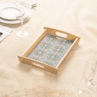 Ceramic Tiles Serving Tray