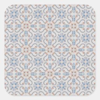 Ceramic tiles square sticker