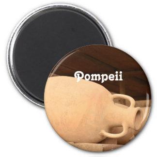 Ceramics in Pompeii Magnet