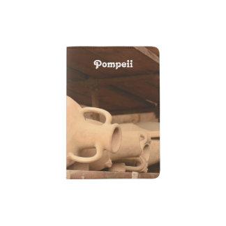 Ceramics in Pompeii Passport Holder