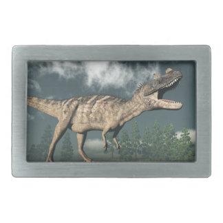 Ceratosaurus dinosaur - 3D render Belt Buckle
