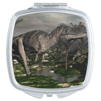 Ceratosaurus dinosaur - 3D render Mirror For Makeup