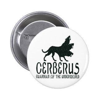 Cerberus 6 Cm Round Badge