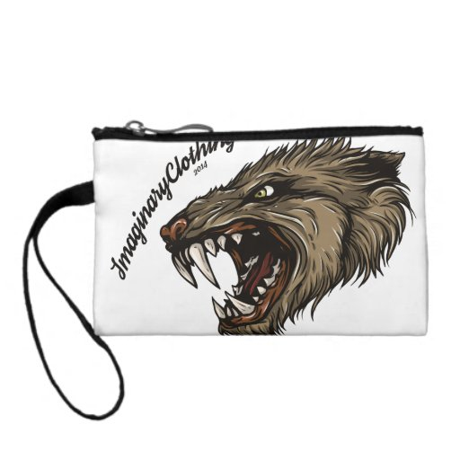 Cerberus and Wolf Key Coin Clutch Change Purses