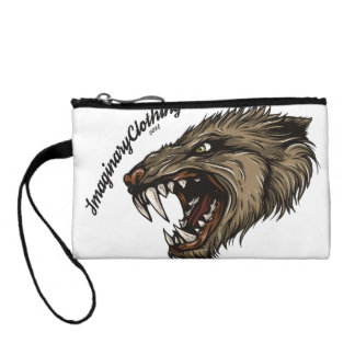 Cerberus and Wolf Key Coin Clutch Coin Wallets
