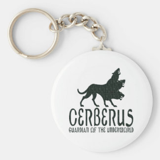 Cerberus Basic Round Button Key Ring