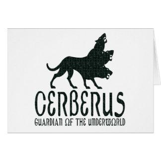 Cerberus Greeting Card