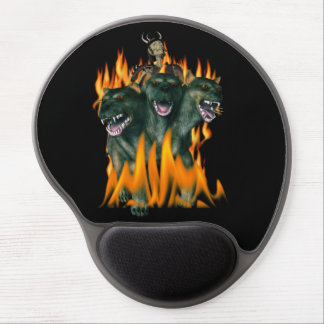 Cerberus In Hell Gel Mouse Pad