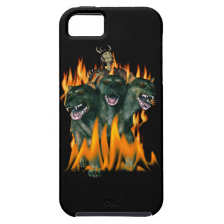 Cerberus In Hell iPhone 5 Covers