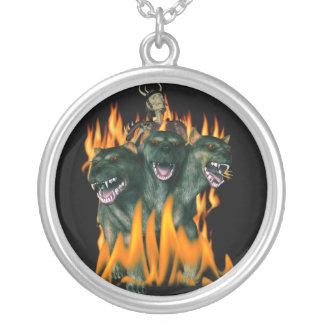 Cerberus In Hell Custom Necklace