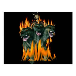 Cerberus In Hell Postcard