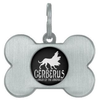 Cerberus Pet Name Tag