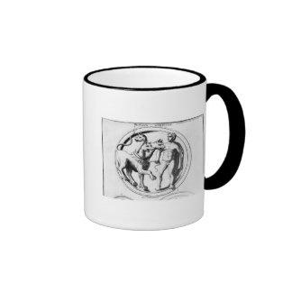 Cerberus Tamed by Hercules Ringer Mug