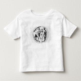 Cerberus Tamed by Hercules T Shirt