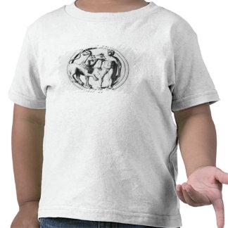 Cerberus Tamed by Hercules Shirt