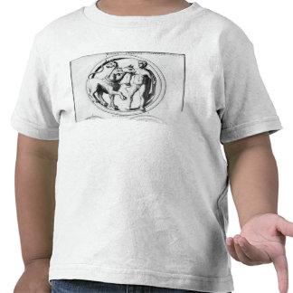 Cerberus Tamed by Hercules Tee Shirts