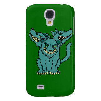 Cerberus - The Three Headed Hell Hound Samsung Galaxy S4 Covers