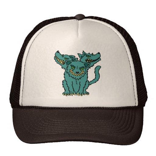 Cerberus - The Three Headed Hell Hound Hats