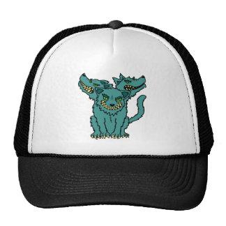 Cerberus - The Three Headed Hell Hound Trucker Hats