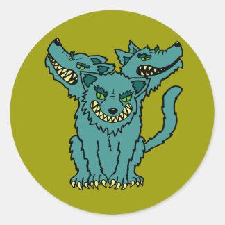Cerberus - The Three Headed Hell Hound Stickers