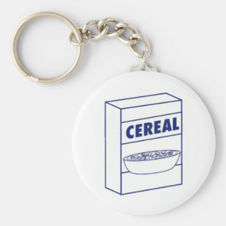 Cereal Box Key Ring