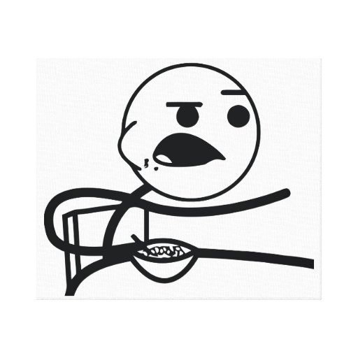 Cereal Guy Canvas Prints