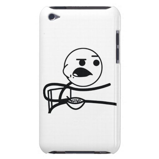 Cereal Guy Case-Mate iPod Touch Case