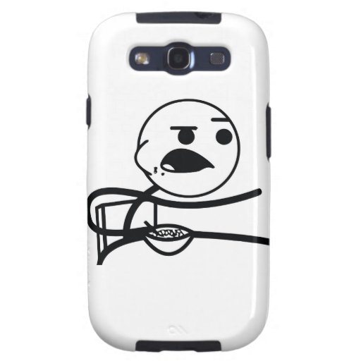 Cereal Guy Samsung Galaxy S3 Covers