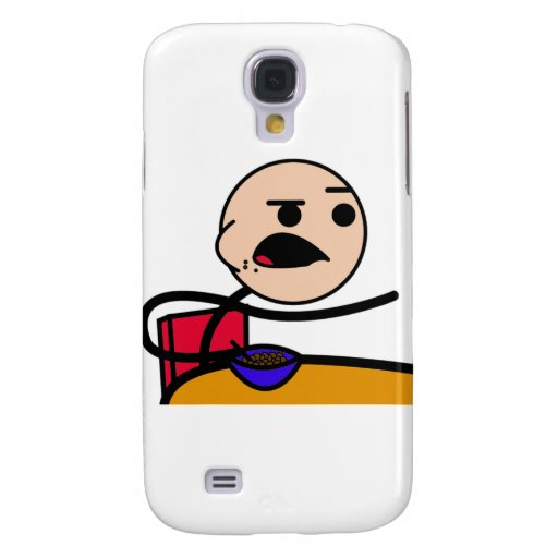 Cereal Guy in Color! Samsung Galaxy S4 Cases