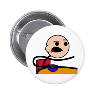 Cereal Guy in Color Pinback Button