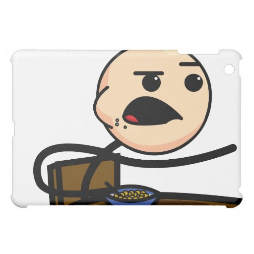 Cereal Guy iPad case
