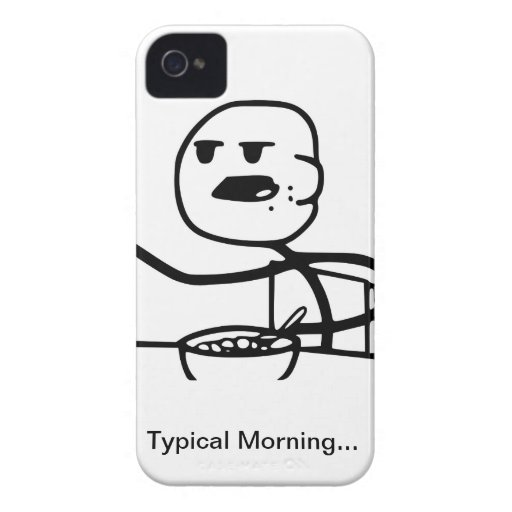 Cereal Guy Iphone 4 Case