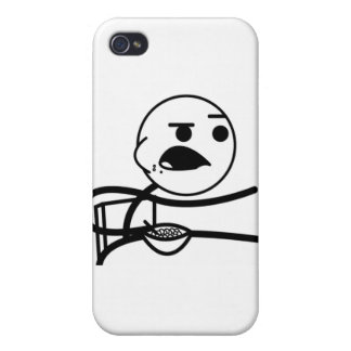 Cereal Guy !! iPhone 4 Cover